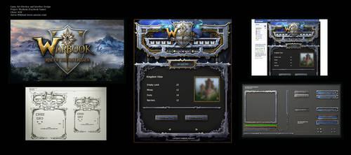 Warbook Facebook Game by karsten