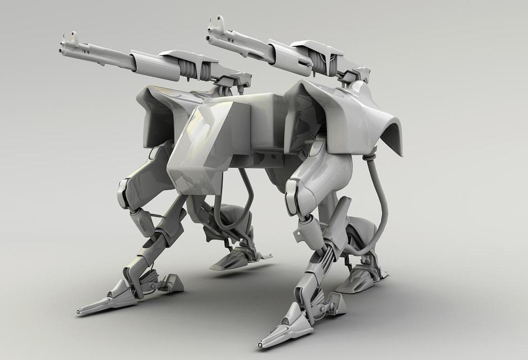 3d Robot by karsten