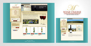 Wine Online E-Commerce Website by karsten