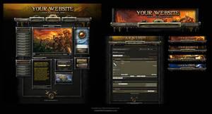 Warhammer Online Web Template by karsten