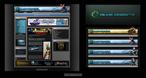 Esport Gamers Website Design by karsten