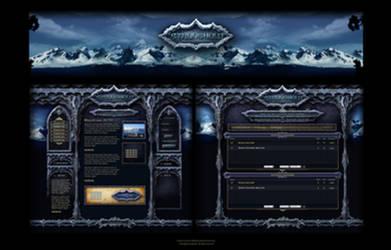 Stronghold Interface Design by karsten