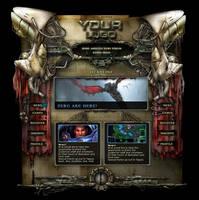 SciFi Alien RPG Game Design by karsten