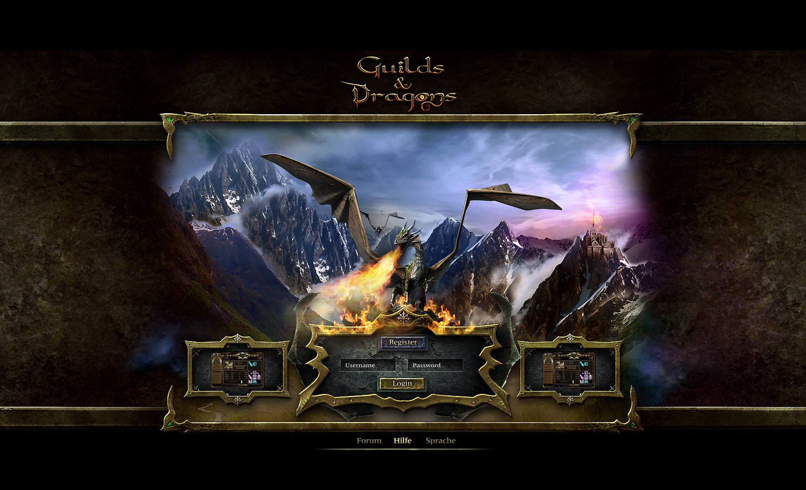 dragon browsergame