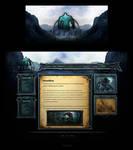 TITAN GAMING Website Interface