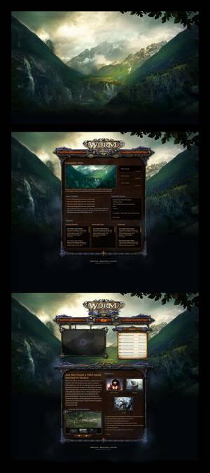 Wurm Online Website