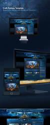Craft-Fantasy-Web-Joomla-Wordpress-Template by karsten