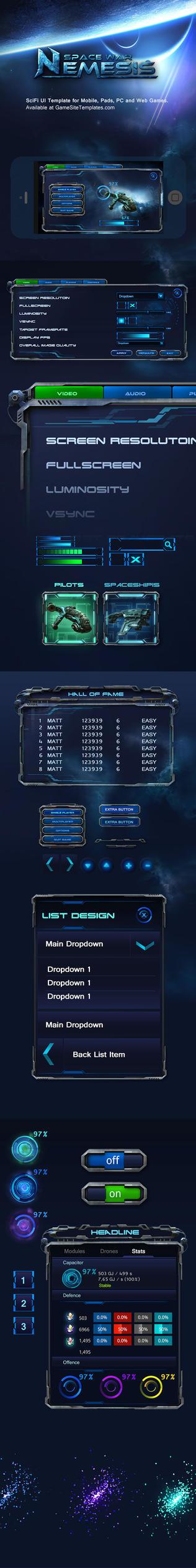 SpaceWar-SciFi-Mobile-Game-GUI-Interface-04 by karsten