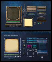 Fantasy Game UI
