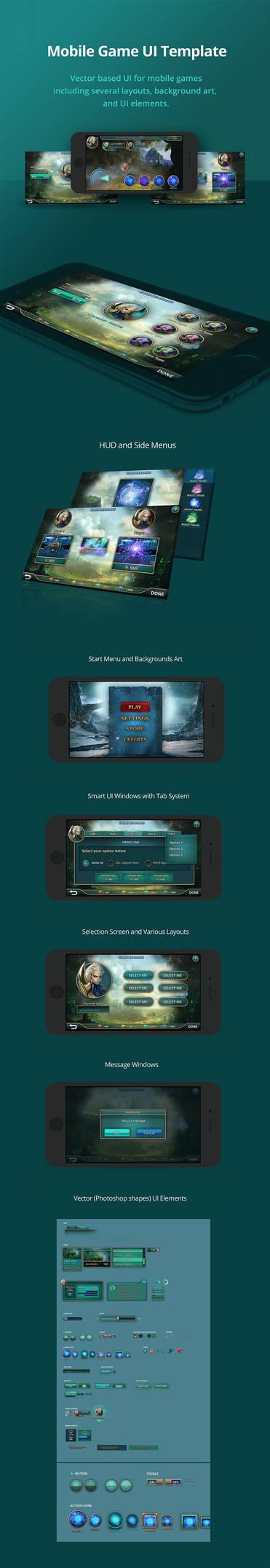 Mobile-game-ui