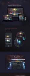 Aurora Game Website Template by karsten