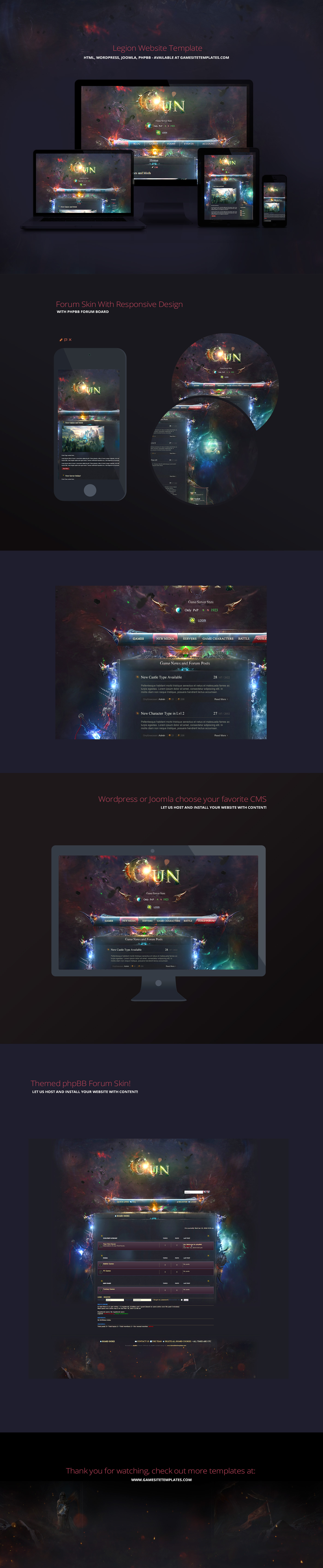 Web Designs on Clan-Templates - DeviantArt
