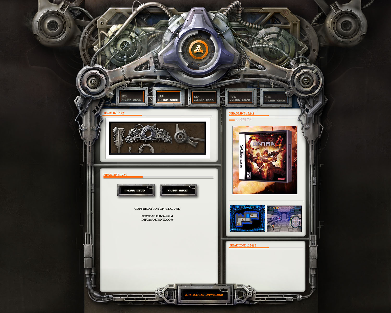 Trinity Interface by karsten