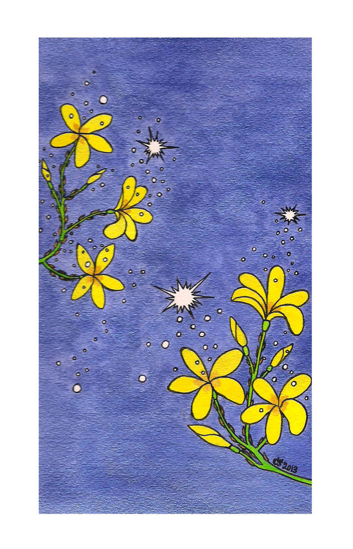 Yellow Jasmine Flowers by RainbowFay on DeviantArt