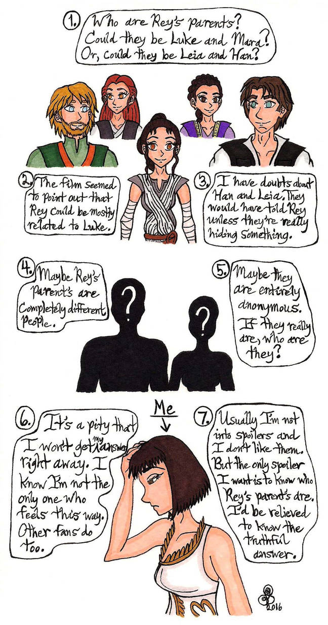 Who Are Rey's Parents? by RainbowFay on DeviantArt