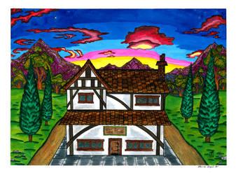 Countryside Tea House by RainbowFay