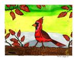 The Cardinal by RainbowFay