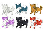 (OPEN) Adoptables Canines 5pts