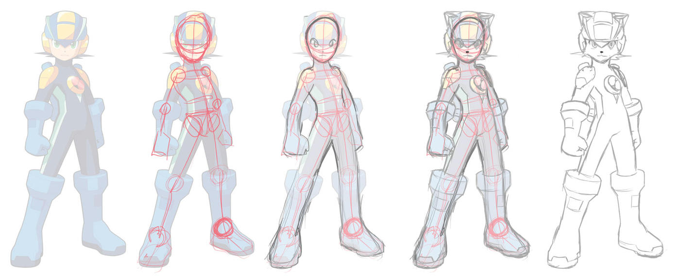 Learning Anatomy Via Tracing By Chef Cheiro On Deviantart