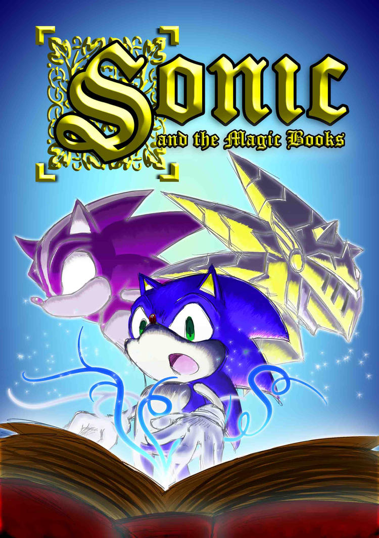 Sonic and the Magic Book by chef-cheiro