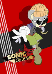 Bear Oc Sonic Force by chef-cheiro