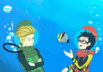 Is this underwater meme by chef-cheiro