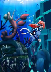 Underwater Treasur Hunting by chef-cheiro