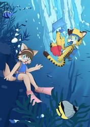 Underwater Photobomb