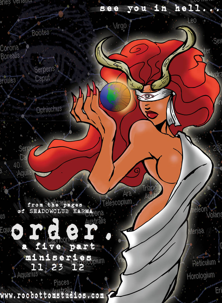Order: webcomic promo by rocbottom