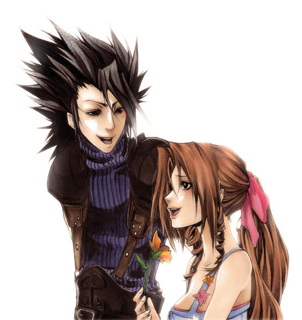 final fantasy cloud and aerith relationship help