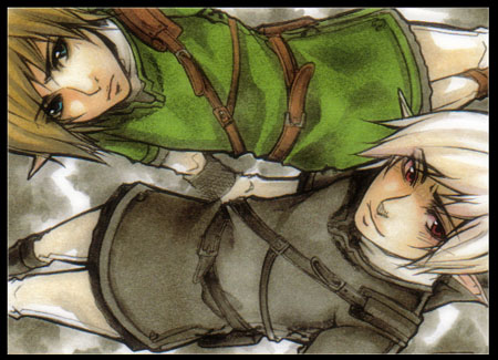 Link and Dark Link by XMenouX