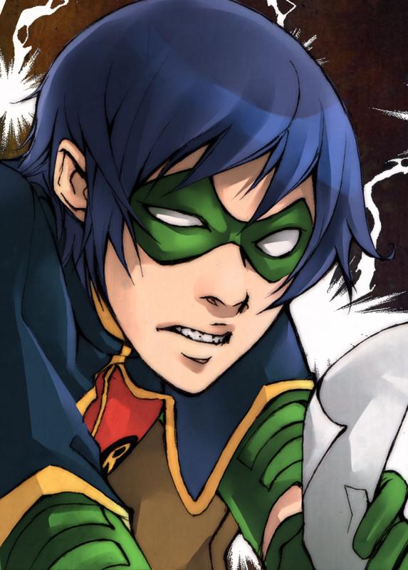 Robin :-o by XMenouX