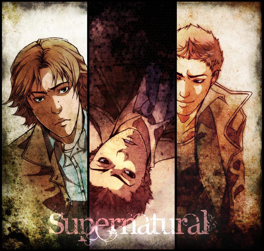 Supernatural by XMenouX on DeviantArt Supernatural Fanfiction