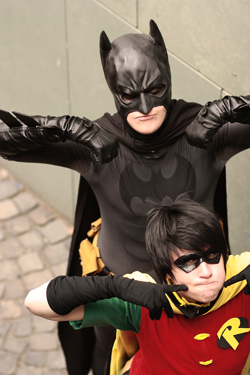 batman_robin cos by XMenouX