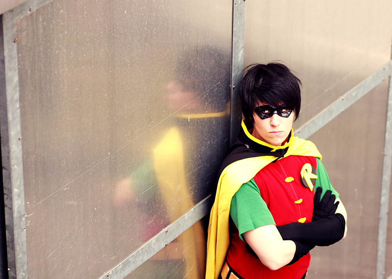 Robin cosplay by XMenouX