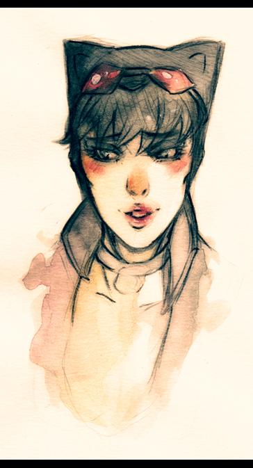 catwoman - selina bla by XMenouX