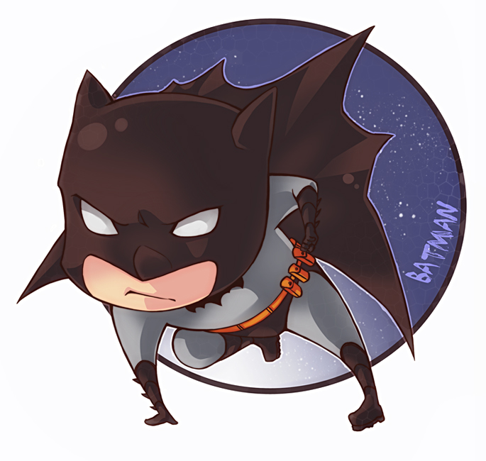 Batman chibi by XMenouX on DeviantArt