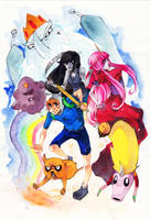 adventure time by XMenouX