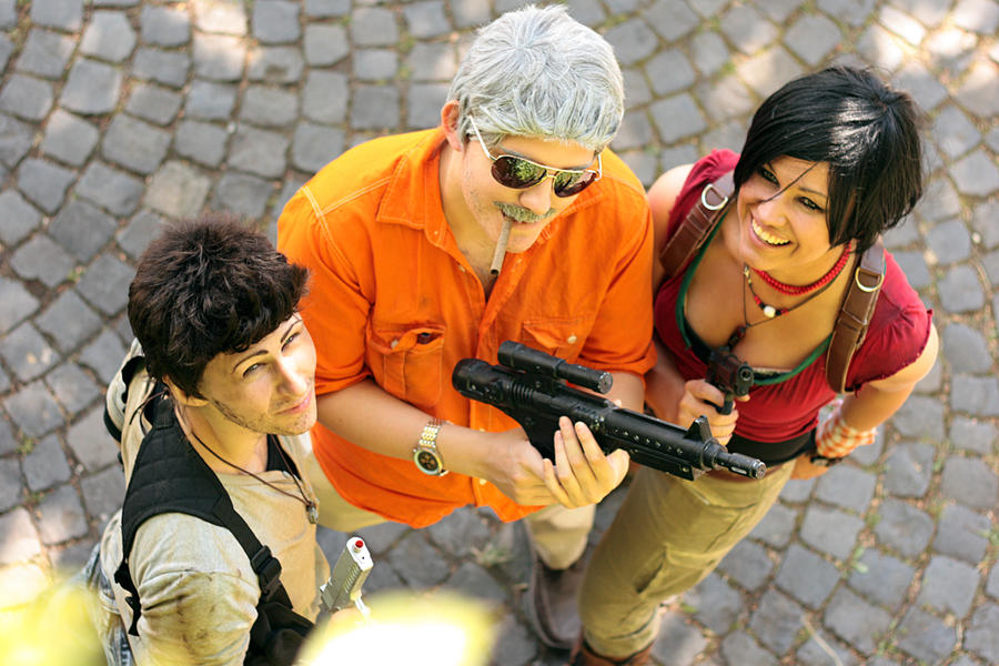 Uncharted Cosplay Group by XMenouX