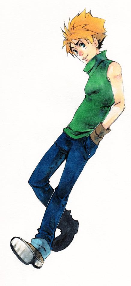 Ishida Yamato Digimon by XMenouX