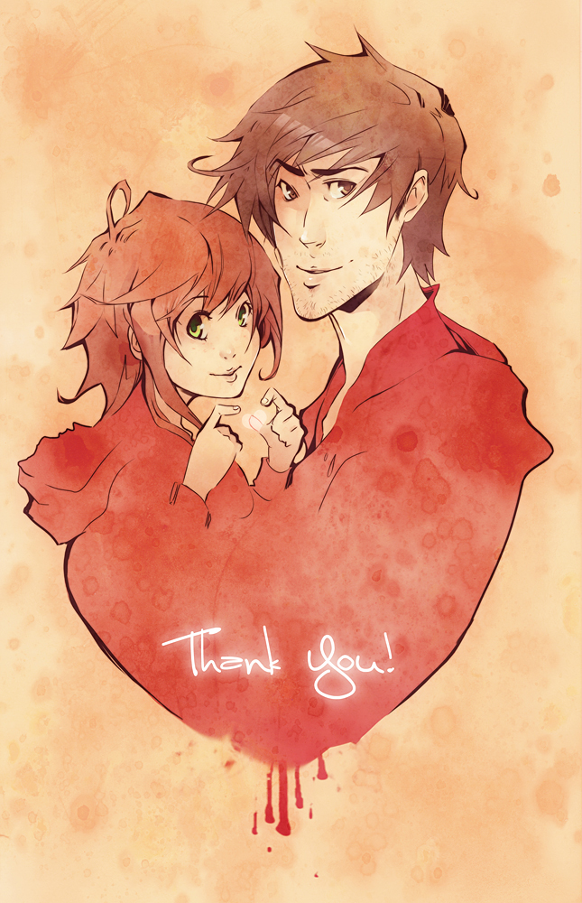 Thank you by XMenouX