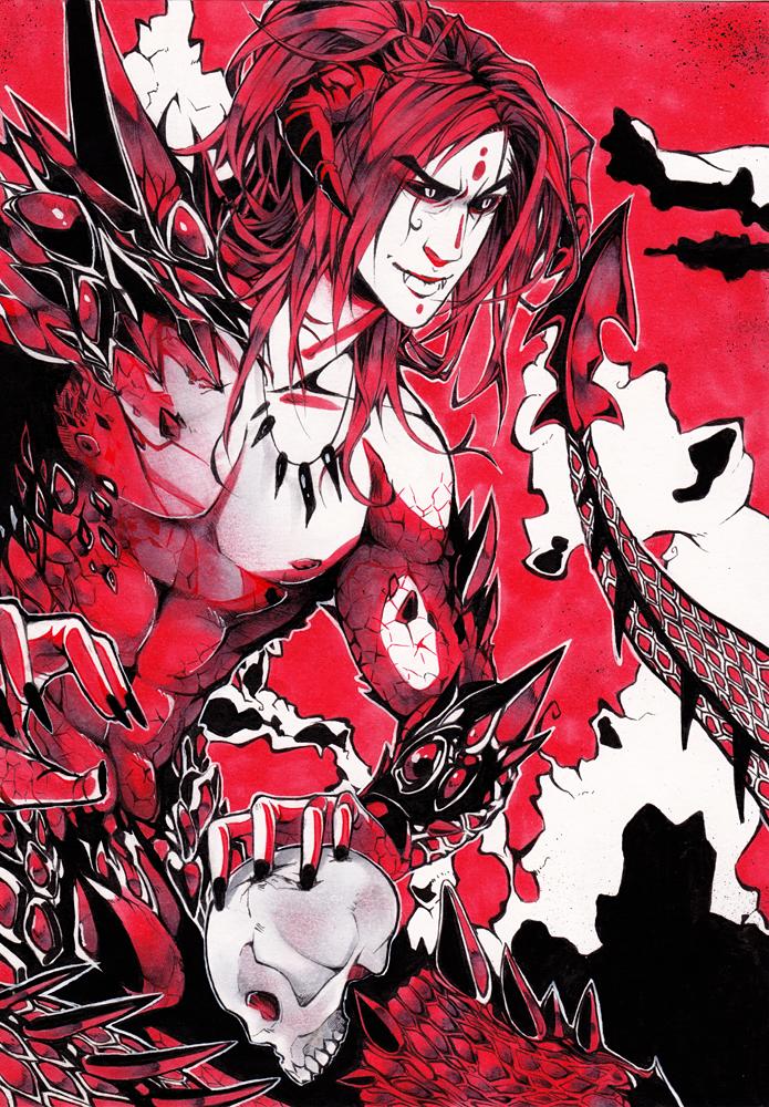 Dragonman by XMenouX