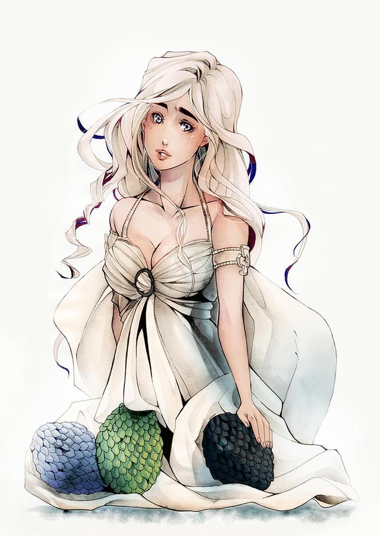 Daenerys Targaryen by XMenouX