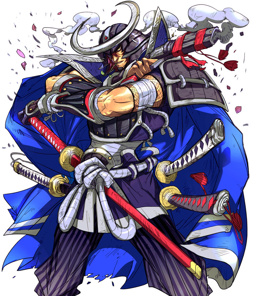 Date Masamune-Colours. by Andres-Blanco