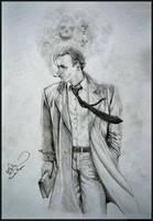 John Constantine. (Fan Art) by Facu-Moreno