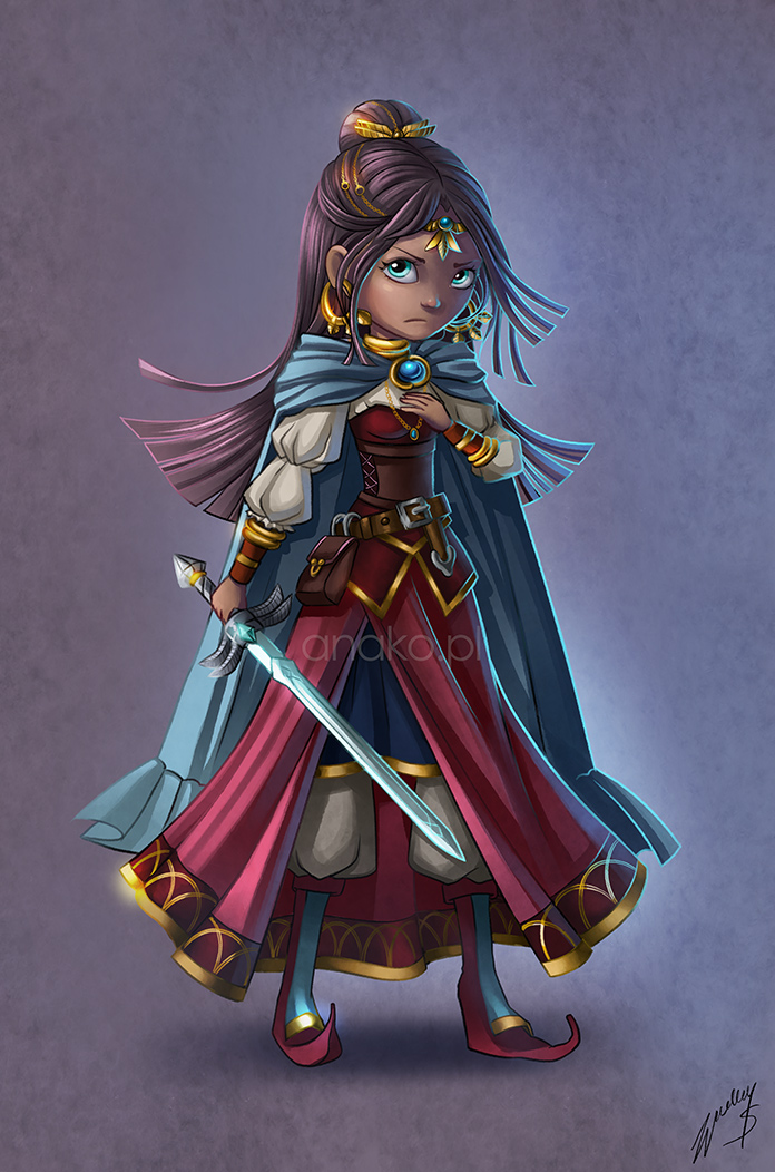 the princess - concept by Anako-ART
