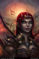 Ais - Worlds of Magic by Anako-ART
