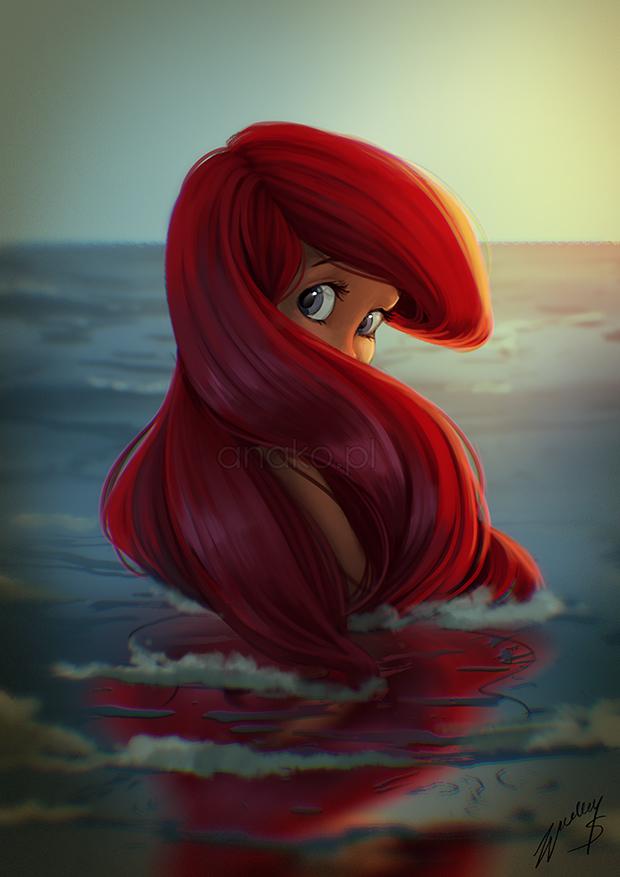 Ariel by Anako-ART