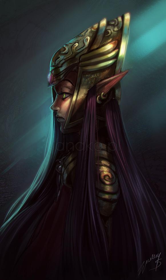 random elf warrior by Anako-ART