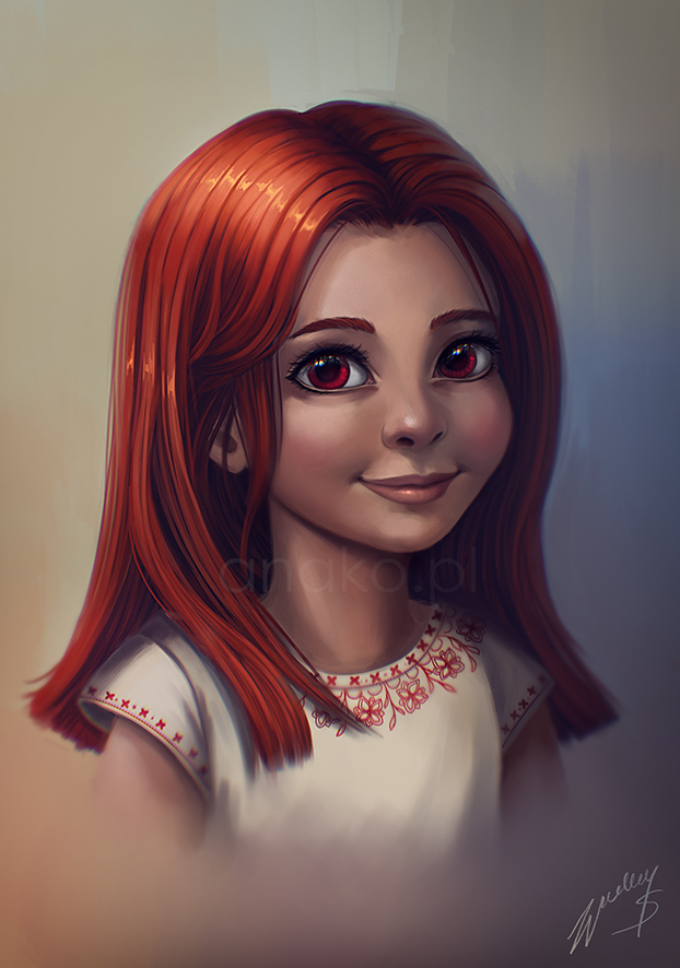 Eydenn - portrait commission by Anako-ART